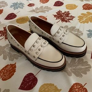 Coach Lenox Loafers with Rivets